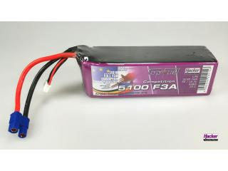 TopFuel LiPo 20C-ECO-X 5100mAh 5S Competition F3A 201